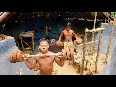 Created Ancient Gym Workout Tools By Primitive Skills