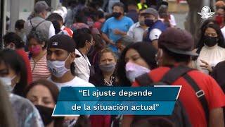 La jefa de Gobierno de la Ciudad de México, expuso que el Gobierno de México analizará un ajuste en el semáforo epidemiológico; confió en que se definirá que el semáforo no sólo tenga la postura de la Secretaría de Salud, sino de otras dependencias