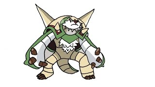How To Draw Chesnaught (POKEMON)