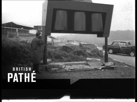 New Warning System For Safer High Speed Motoring (1962)