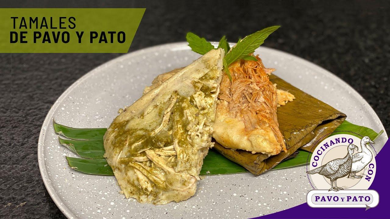 Tamales Oaxaqueños de Pavo y Pato
