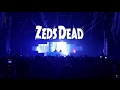 Zeds Dead Live Reaction NYE 2016 Part 10 Blame mp3