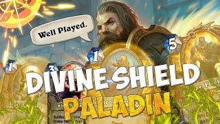 VITTORIE VELOCI E DIVERTENTI - DIVINE SHIELD PALADIN [HEARTHSTONE ITA]