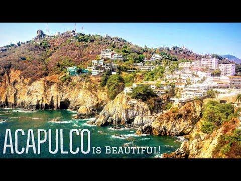 ACAPULCO Is BEAUTIFUL! | LA QUEBRADA & PLAYA CALETA | Acapulco Part 2