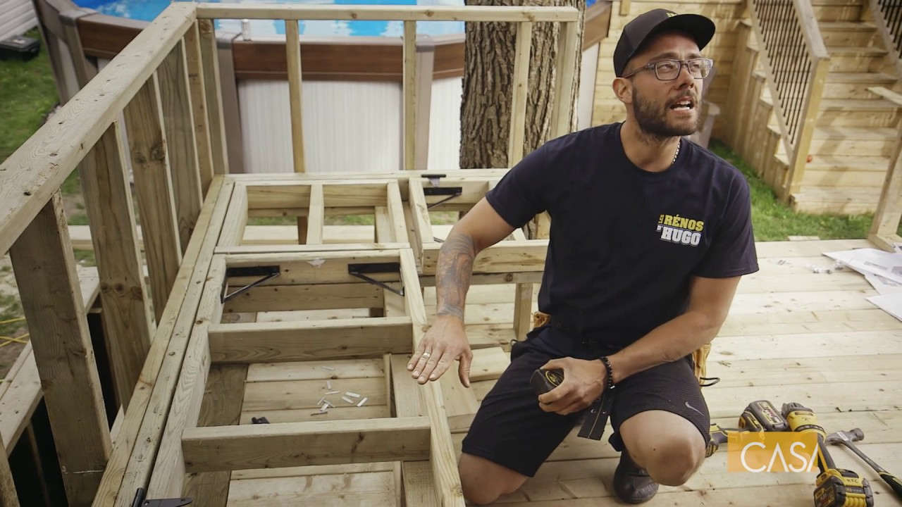 construire une banquette de rangement
