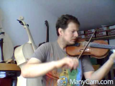 COMPOSITION OF A CLASSICAL PIECE FOR VIOLIN SOLO