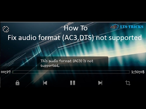 ||how to || play ac3 audio || and dts audio || in mx player || in hindi ||