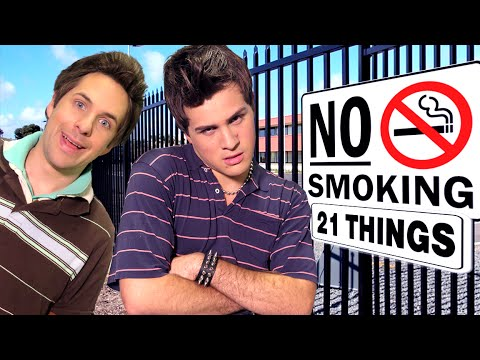 21 THINGS I'D RATHER DO THAN SMOKE