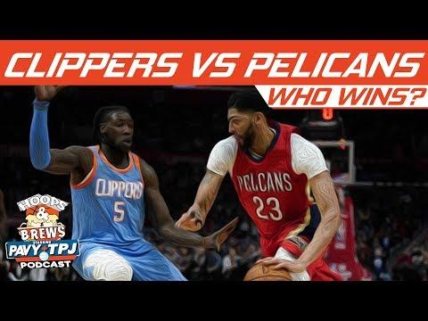Who Wins LA Clippers vs New Orleans Pelicans | Hoops N Brews