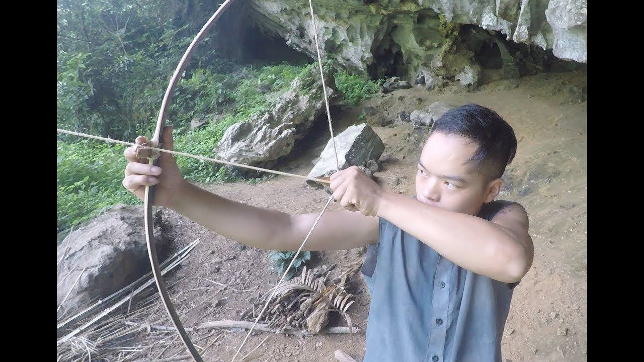 Primitive Skills: Bow and Arrow Made