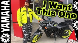 lets get a new motorcycle yamaha fz 07 or mt 07