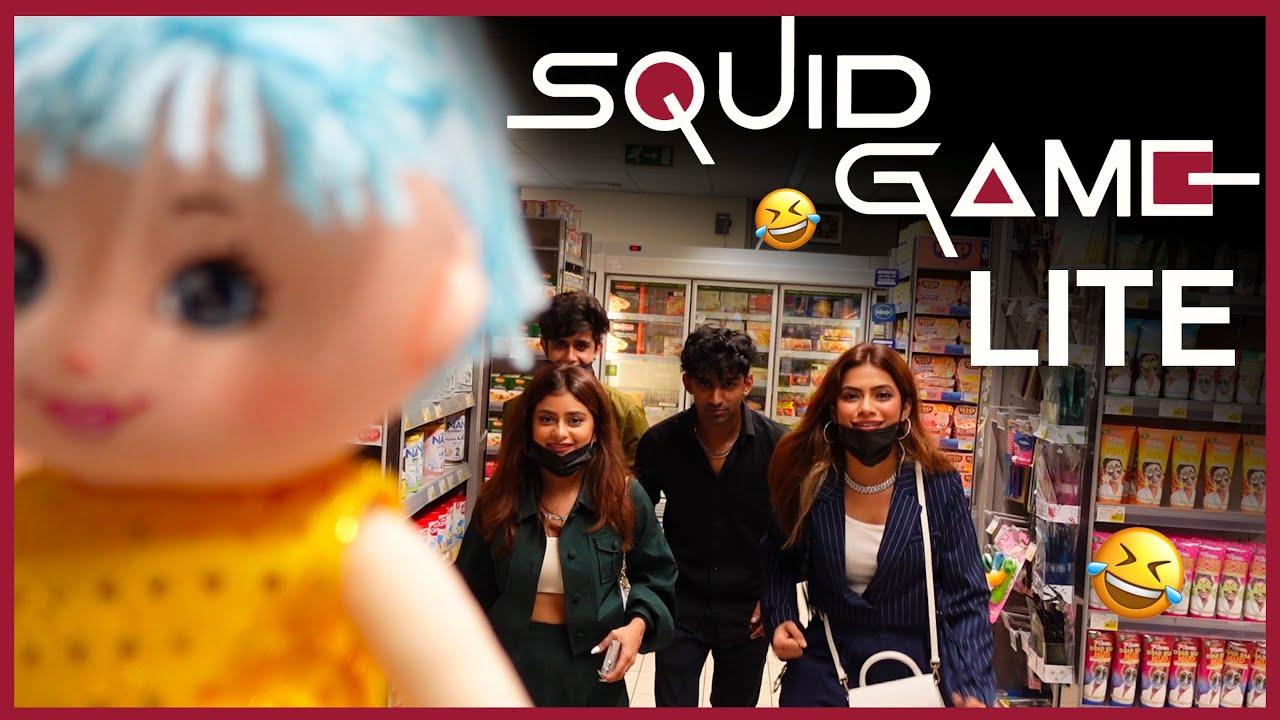 Download Squid Game lite 😂😜 || Dubai part 5 || Nagma Mirajkar