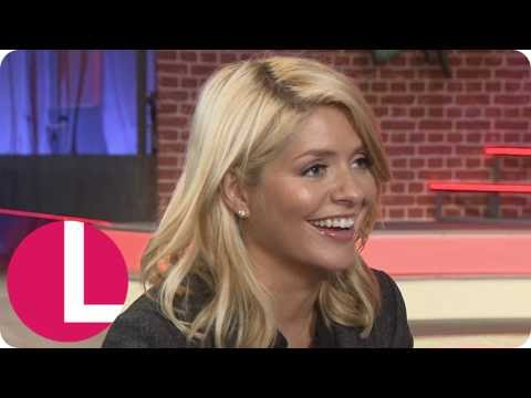 Holly Willoughby Behind The Scenes Of Meet The Parents | Lorraine