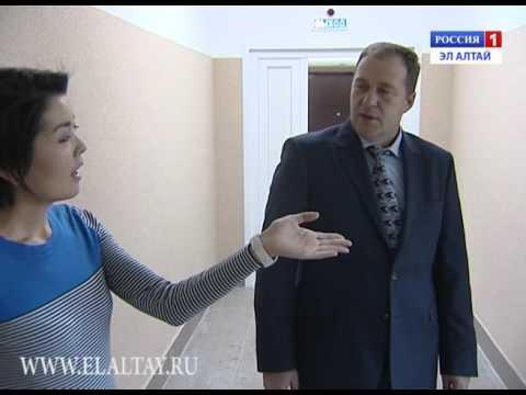 В Горно-Алтайске завершена реконструкция помещения нового филиала республиканской поликлиники