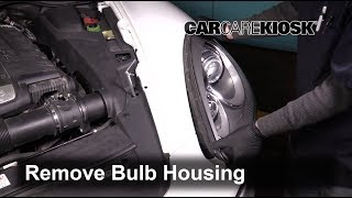 2011-2017 Porsche Cayenne Headlight Housing Removal