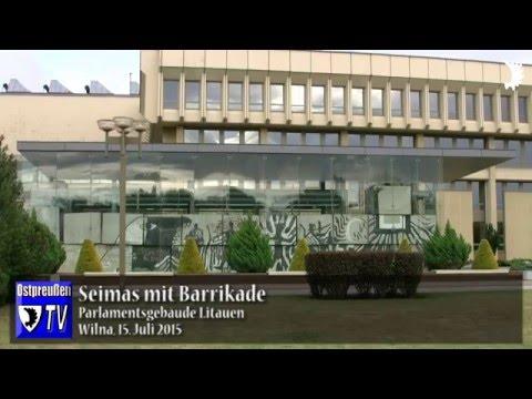 Virgilijus Čepaitis und Katrin Bornmüller über Litauens Weg in die Unabhängigkeit 1991
