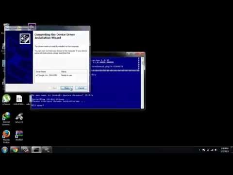 Install ADB & fastboot within seconds on windows7 and Test