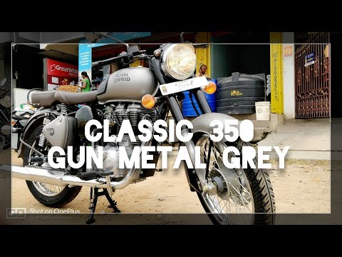 Royal Enfield Classic 350 BS4 | Gun Metal Grey |