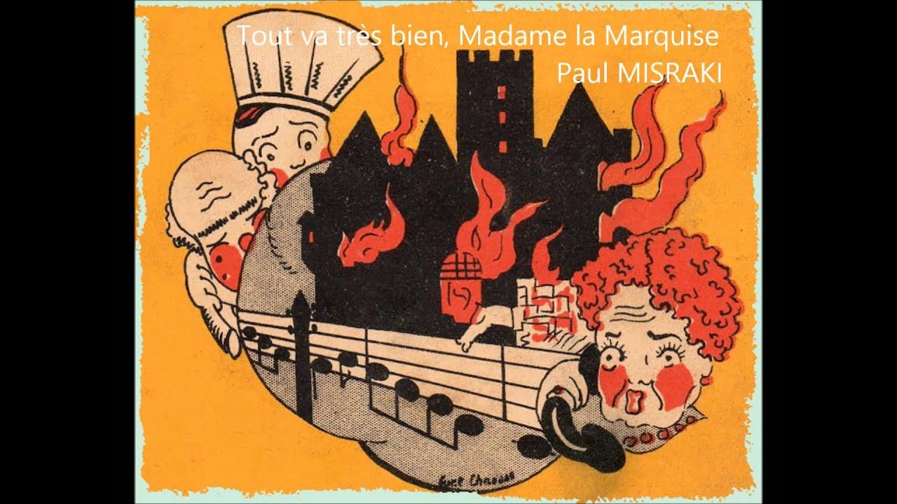 KARAOKE Tout va très bien, Madame la Marquise - YouTube