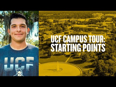 UCF Campus Tour: Starting Points