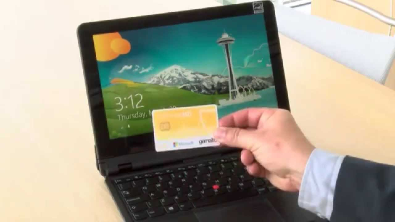 Windows SmartCard logon with ID Prime MD in NFC - YouTube