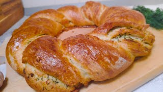 Хлеб с чесноком в духовке Простой рецепт