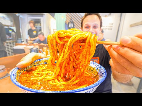 FUKUOKA Noodle Tour!!! Going DEEP for SPICY Tsukemen, LIME S
