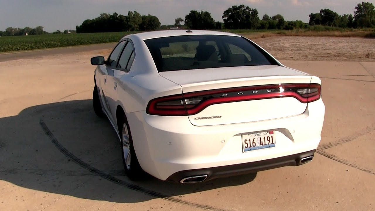 2016 2017 Dodge Charger 3 6l V6 292 Hp Test Drive Youtube