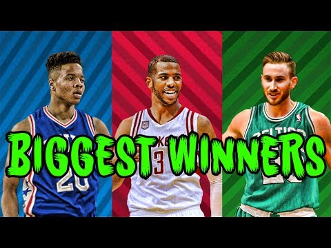 The 7 BIGGEST WINNERS Of The 2017 NBA Offseason