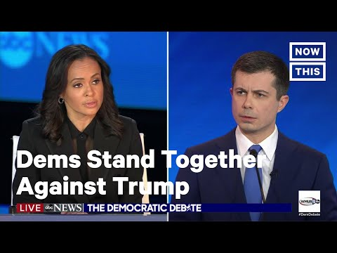 Democrats Present Unified Front to Take on Trump During Debate | NowThis