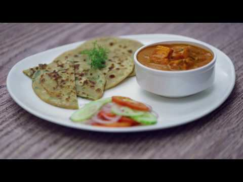 Amul Recipes - Cheese Parantha