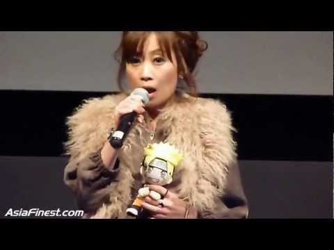 Junko Takeuchi at the US Theatrical Premiere Of Naruto Shippuden: Bonds