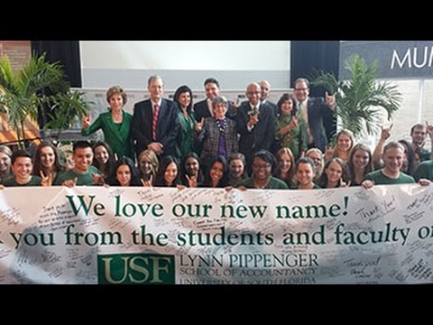 What Lynn Pippenger's $10 Million Gift Means to USF's School of Accountancy