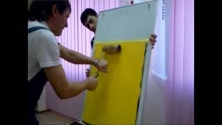 Фасадная краска - декоративное эластичное долговечное покрытие(shopucc.com.ua представляет обучающее видео: нанесение акриловой фасадной краски ТМ Kale