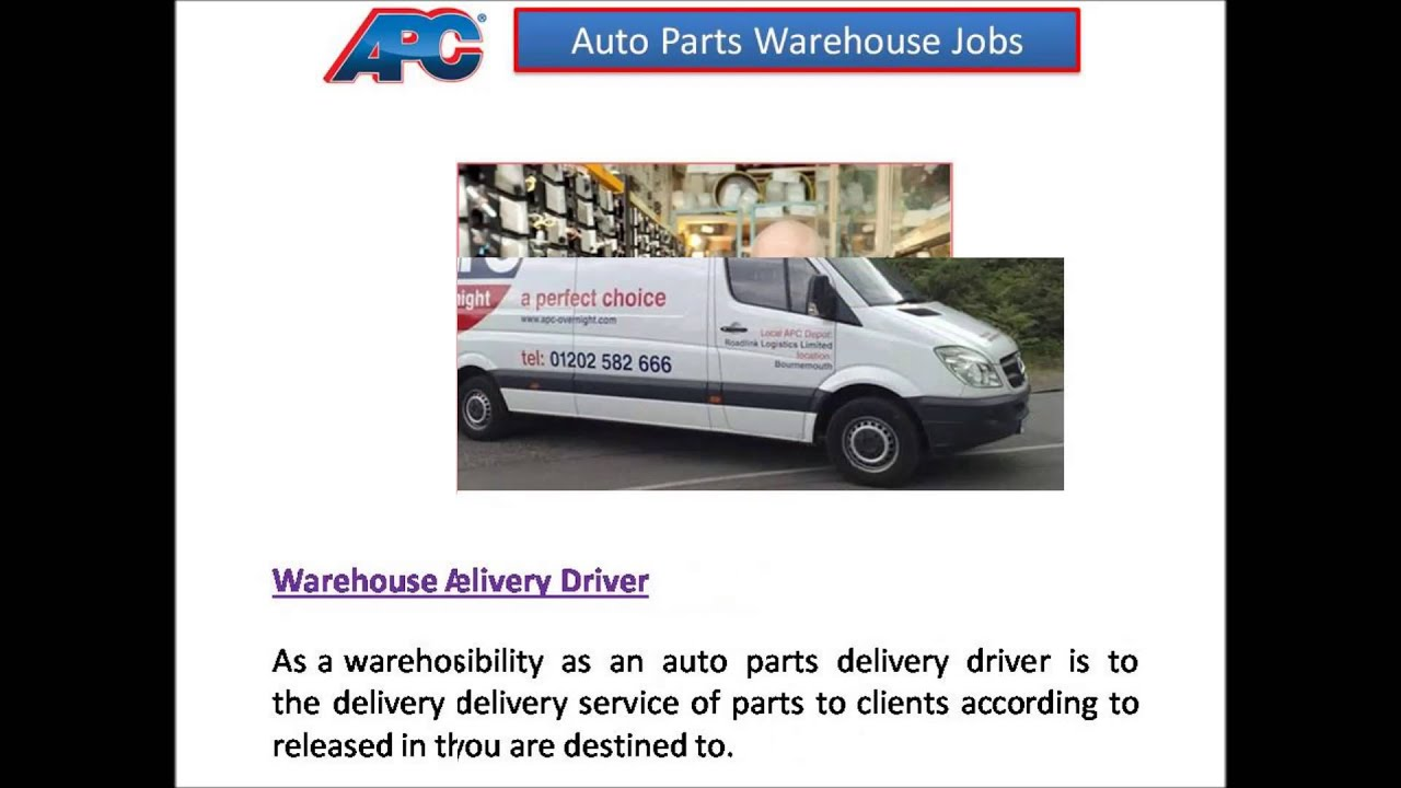 auto parts warehouse jobs youtube