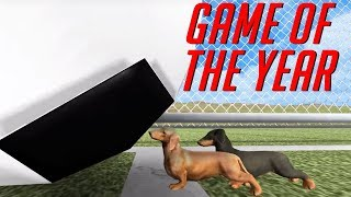 Wiener dogs + Soccer = Game of the Year