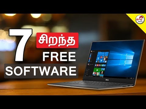 Top 7  சிறந்த Free Windows Software | Tamil Tech