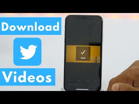 How To Download Twitter Videos On IPhone? - Download Videos From Twitter 😱 (2020)