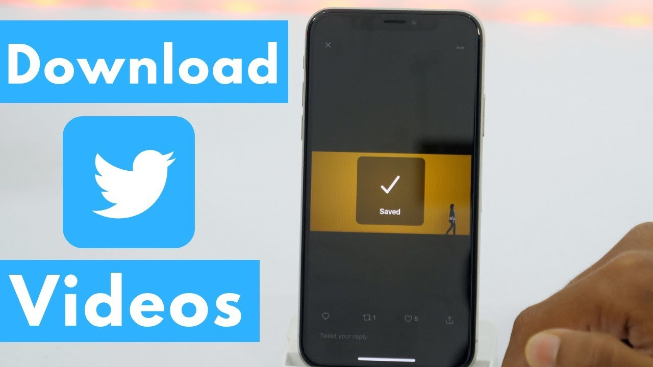 How to Download Twitter Videos on iPhone? - Download Videos from Twitter 😱  (2019)