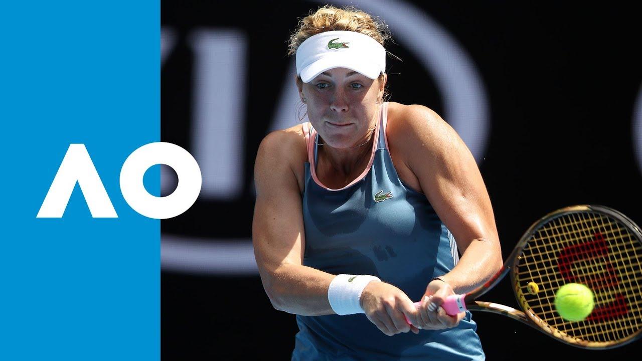 Kiki Bertens v Anastasia Pavlyuchenkova match highlights (2R) | Australian Open 2019