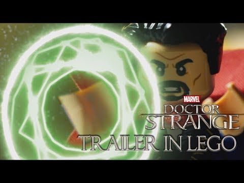 Doctor Strange - Trailer 2 IN LEGO