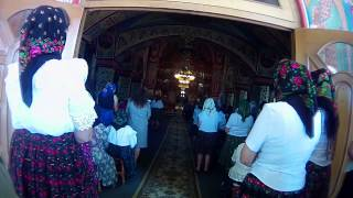 Slujba de  Duminica in Biserica din Vadu Izei