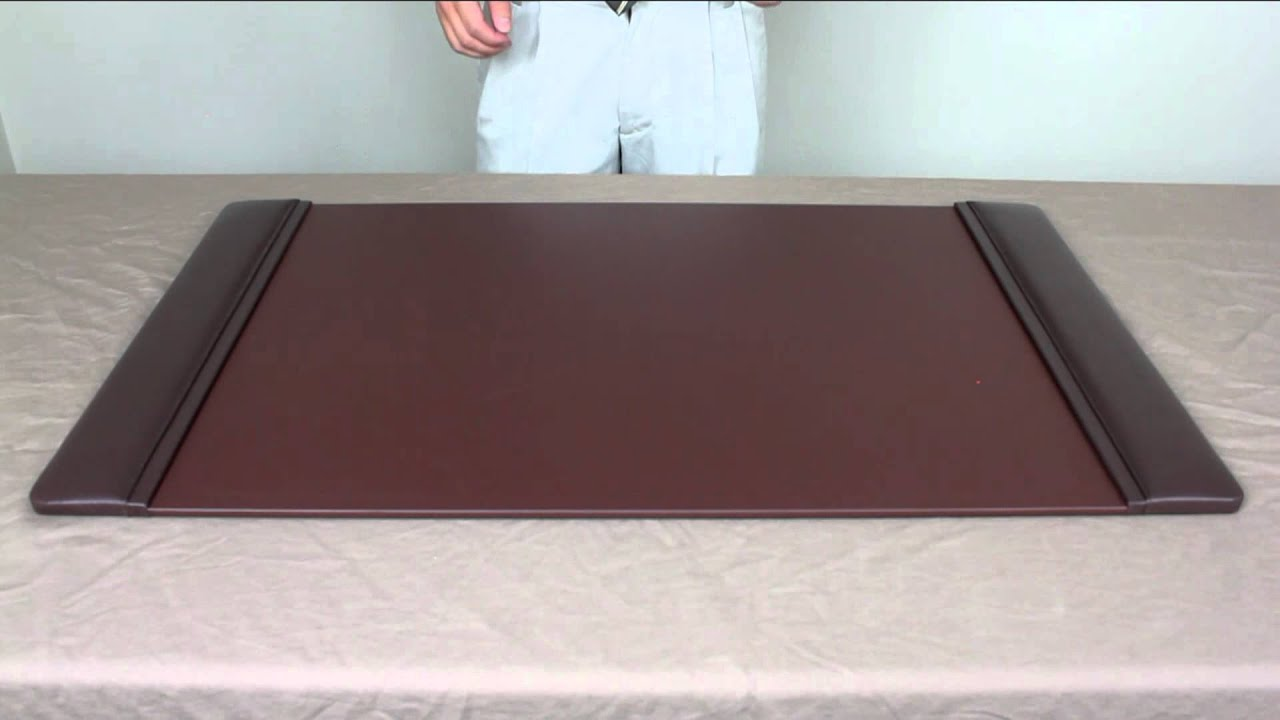 OfficeAccessoriesPlus Leather Desk Pads   YouTube