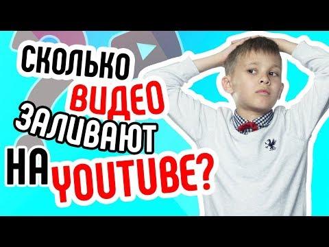 Сколько видео загружается в час на Ютуб