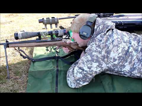 Long Range Rondane nr105 Testing demo suppressor cover
