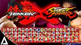 TEKKEN X STREET FIGHTER (Concept)