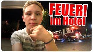 FEUER IM HOTEL! - USA TRIP #2