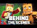 quot follow me quot behind the scenes minecraft fnaf animated music video