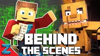 """Follow Me"" - Behind The Scenes (Minecraft FNAF Animated Music Video)"