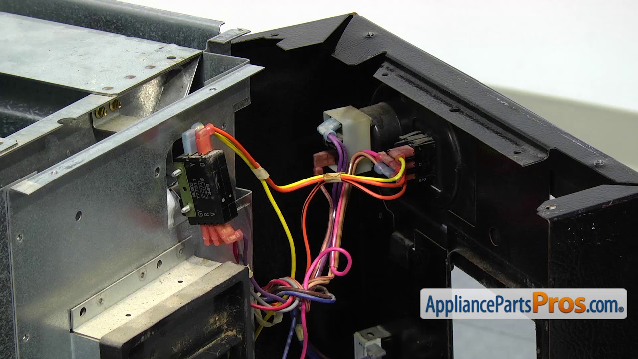 trash compactor actuator switch kit part w10342596 how to replace [ 1280 x 720 Pixel ]